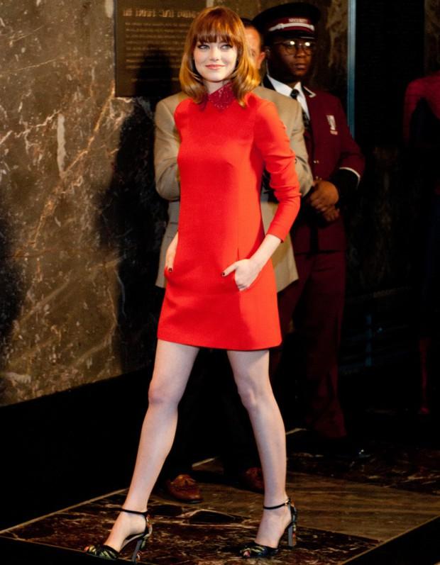 Emma Stone Fan Du Style Annes 60 Elle