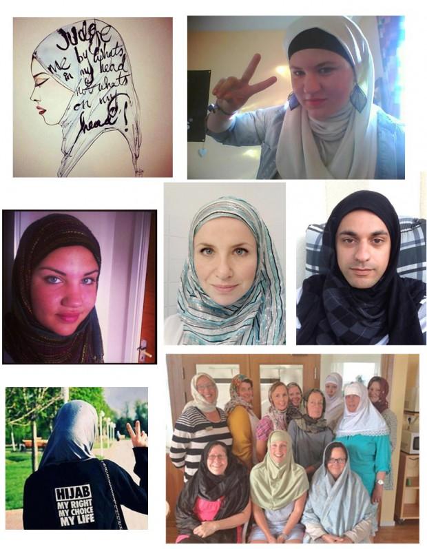 La solidarite des Suedoises apres l agression d une femme voilee