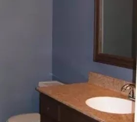 i have an ugly bathroom sink is there