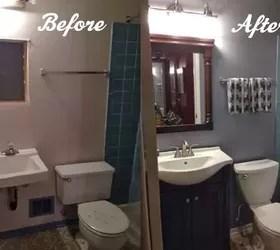 diy bathroom renovation | hometalk