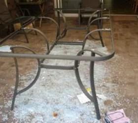 diy rustic patio table top hometalk