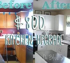 Kitchen Renovation Under 1000
