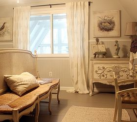 French Country A-frame Cottage Bedroom Tour