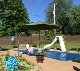 umbrella planter hometalk