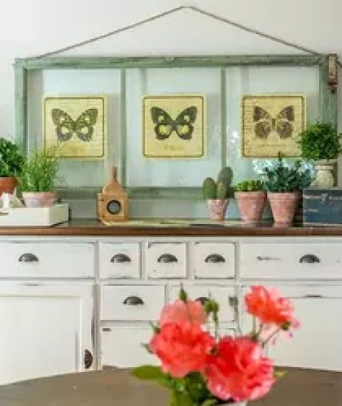 Decor Creative Old Window Ideas Decorating Small Home Decoration Top To