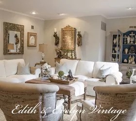 Transforming a Family Room in a Vintage French Country Home   Hometalk transforming a family room in a vintage french country home  home decor   living room