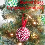 Diy Stained Glass Christmas Tree Ornaments Craft Video Hometalk