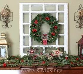 """How To Decorate A """"Pretend"""" Mantel The Inexpensive Way"""
