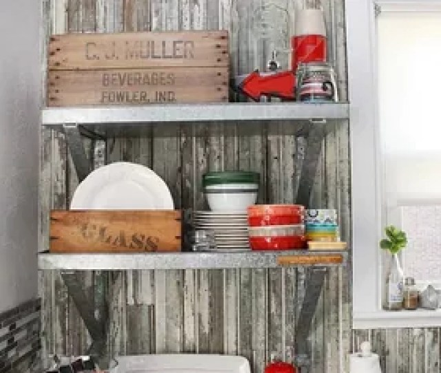Diy Vintage Farmhouse Kitchen Remodel Diy Home Improvement Kitchen Design Shelving Ideas