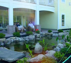 Home Fish Pond Design