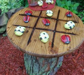 Tic Tac Toe Garden Table Hometalk