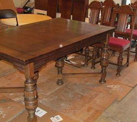 Diy 1920 S Vintage Table Chairs Redo Hometalk
