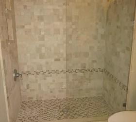 beautiful custom tile shower hometalk