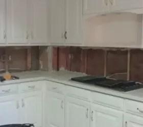 drywall for tiling kitchen backsplash