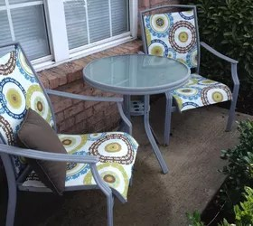 replacing repairing dryrotted fabric on