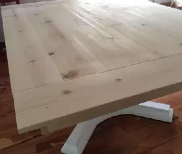 Woodworking Farmhouse Table Revamp Diy Painted Furniture Woodworking Projects