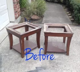 end tables coffee table makeover