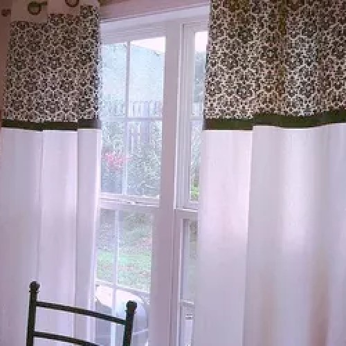 Diy Kitchen Curtain