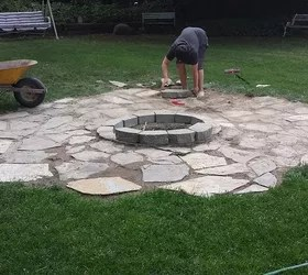Building A Backyard Fire Pit Hometalk