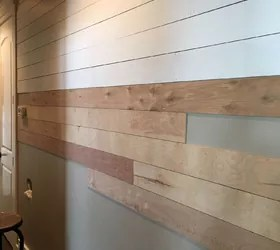 DIY Shiplap WallEasy Cheap And Beautiful Part 1