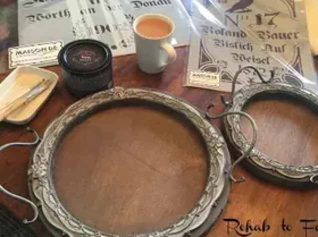 Decor Steals Carved Wooden Round Serving Tray S Go Fab D Crafts Wall