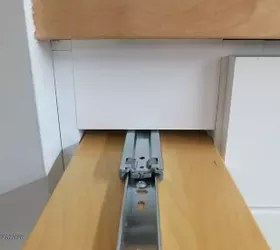 Hidden Kitchen Storage: Turn A Filler Panel Into A Pull