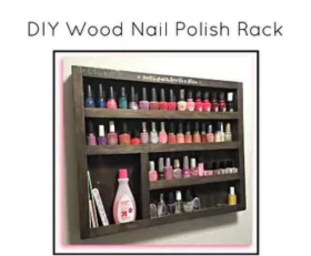 I Love The Idea Of Displaying My Nail Polish As Art Because It Is Easy To Change Mode Room Just By Changing Out Colors On Self
