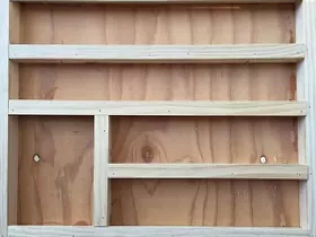 Diy Wood Nail Polish Rack Anization Anizing Woodworking Projects