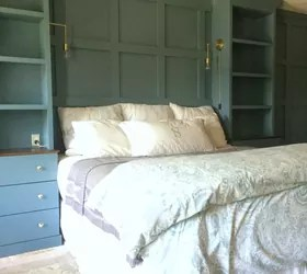 DIY Master Bedroom Built-ins