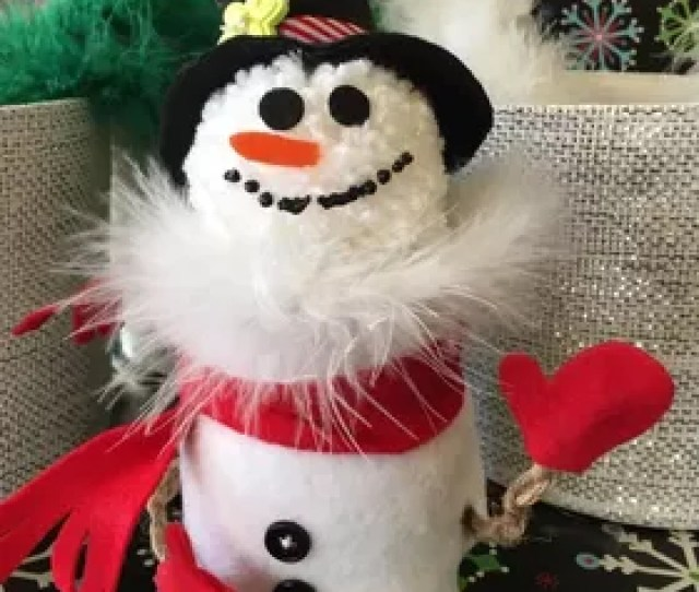 Fleece Mini Stocking Hat Ornaments Package Toppers Or Garland Christmas Decorations Seasonal Holiday Decor