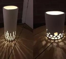 Lampu Hias PVC Sederhana