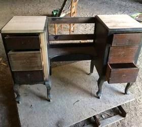 antique vanity restoration hometalk