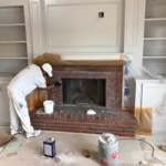 Brick Fireplace Makeover Going White Hometalk