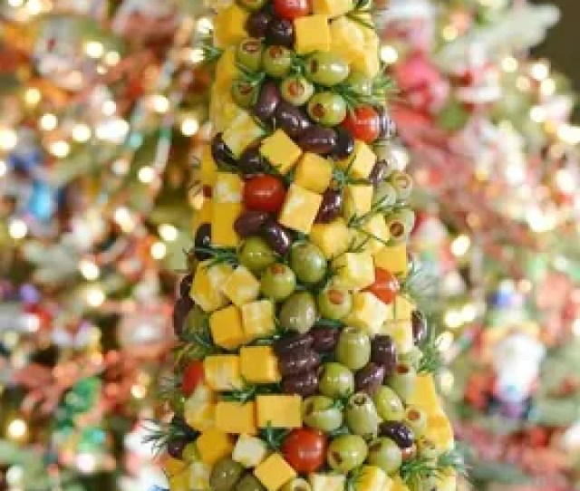 Make An Edible O Christmas Tree Centerpiece
