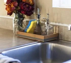 organized kitchen sink caddy hometalk