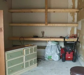 Shiplap Garage Walls  YES     Hometalk