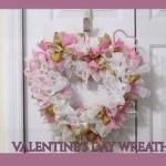 How To Make A Valentine S Day Glam Deco Mesh Wreath Diy Hometalk