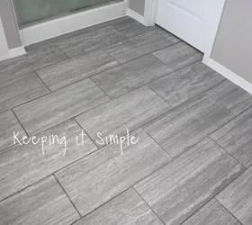 14 Stylish Bathroom Floor Tile Ideas For Small Bathrooms Hometalk