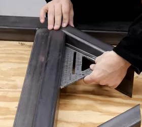 how to make a diy metal table legs