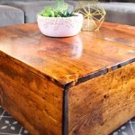 Build An Easy Diy Square Farmhouse Coffee Table Yourself Hometalk