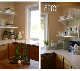 FREE Kitchen Cabinet To Shelf Makeover Hometalk
