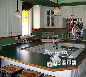 Perfect I Painted My Ugly Formica Counters To Look Like Faux Granite