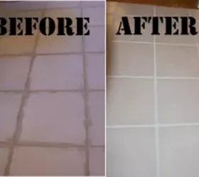Removing Dried On Grout  and Refreshing Grout Lines     Hometalk