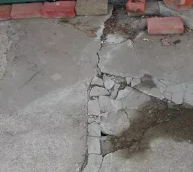 how can i salvage a crumbling cracked