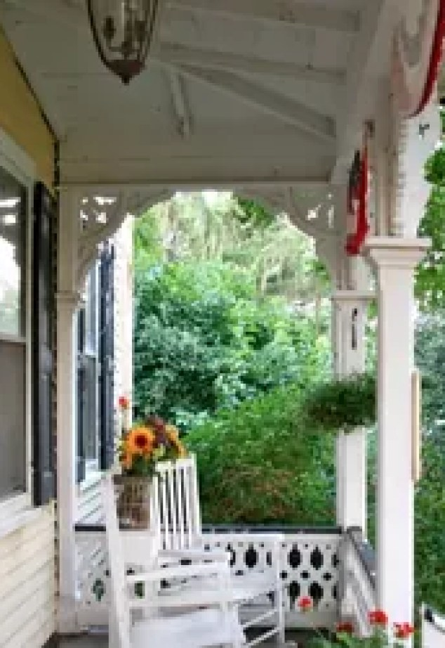 A Favorite Outdoor E Patriotic Victorian Farmhouse Front Porch Curb Appeal Living