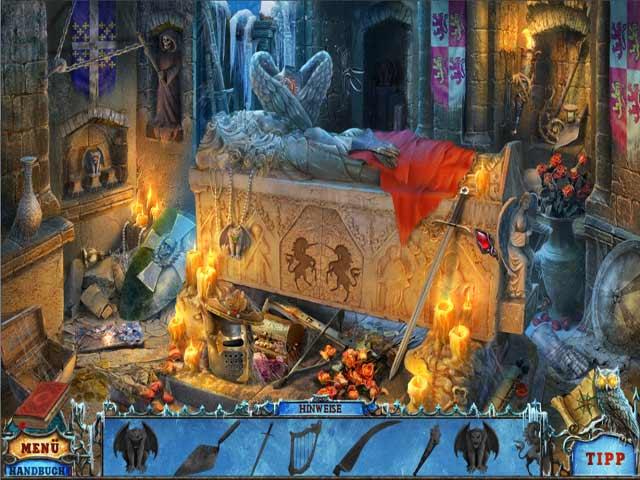 Wimmelbildspiel League of Light: Dunkles Omen