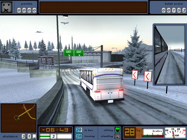 screen3 Bus Driver Gerçek Otobüs Sürme Oyununu Full Tek Link Türkçe İndir