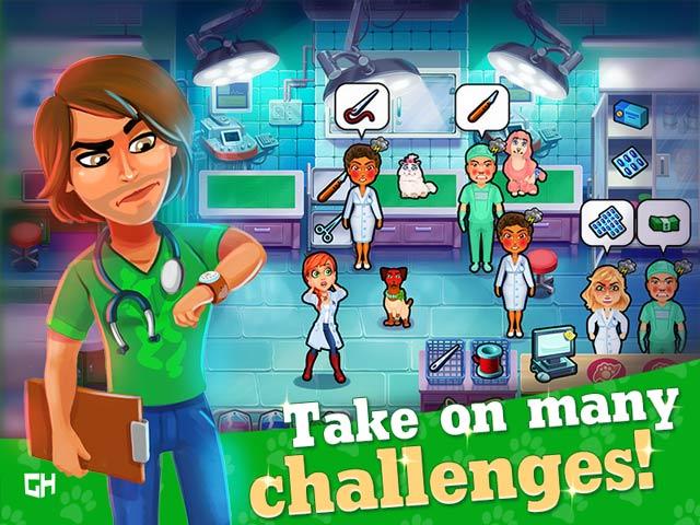 Dr. Cares Pet Rescue 911 - Screenshot 2