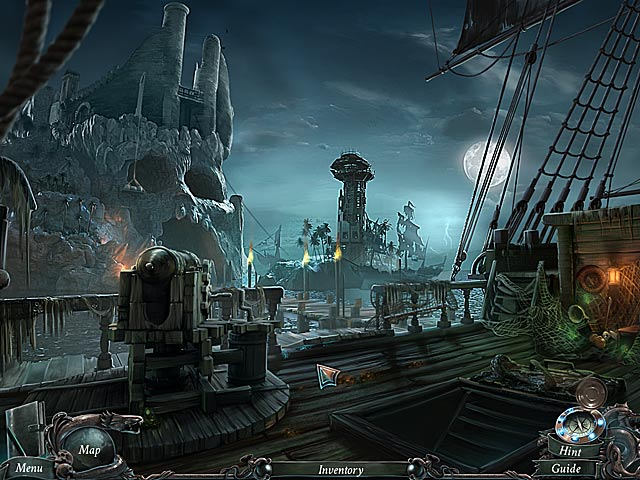 Spiel Nightmares from the Deep Die Schädelinsel