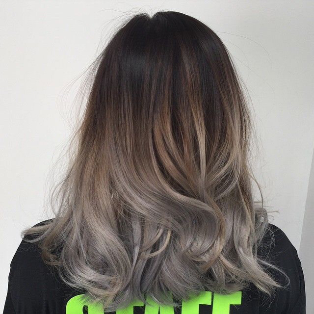 1000 Ideas About Ash Grey Hair On Pinterest Grey Brown